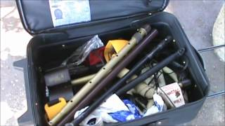 How to take your metal detector with you on planes & ships ect.wmv