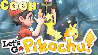Pokémon Let's Go Pikachu (COOP Gameplay) ARENALEITER ROCKO!