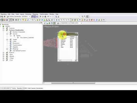 Beginners Informatica Powercenter 9x- Create your first mapping tutorial 3