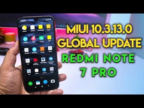 Redmi Note 7 Pro MIUI 10.3.13 0 Global Update August Security Patch