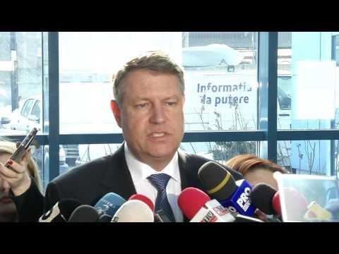 STIRIPESURSE.RO 1 februarie 2017   Declaratia Presedintelui Klaus Iohannis la CSM