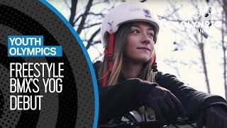 Germany's Top Freestyle BMX rider is ready for Buenos Aires | Youth Olympic Games