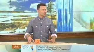 Александр Олешко в программе Доброе Утро Первый канал