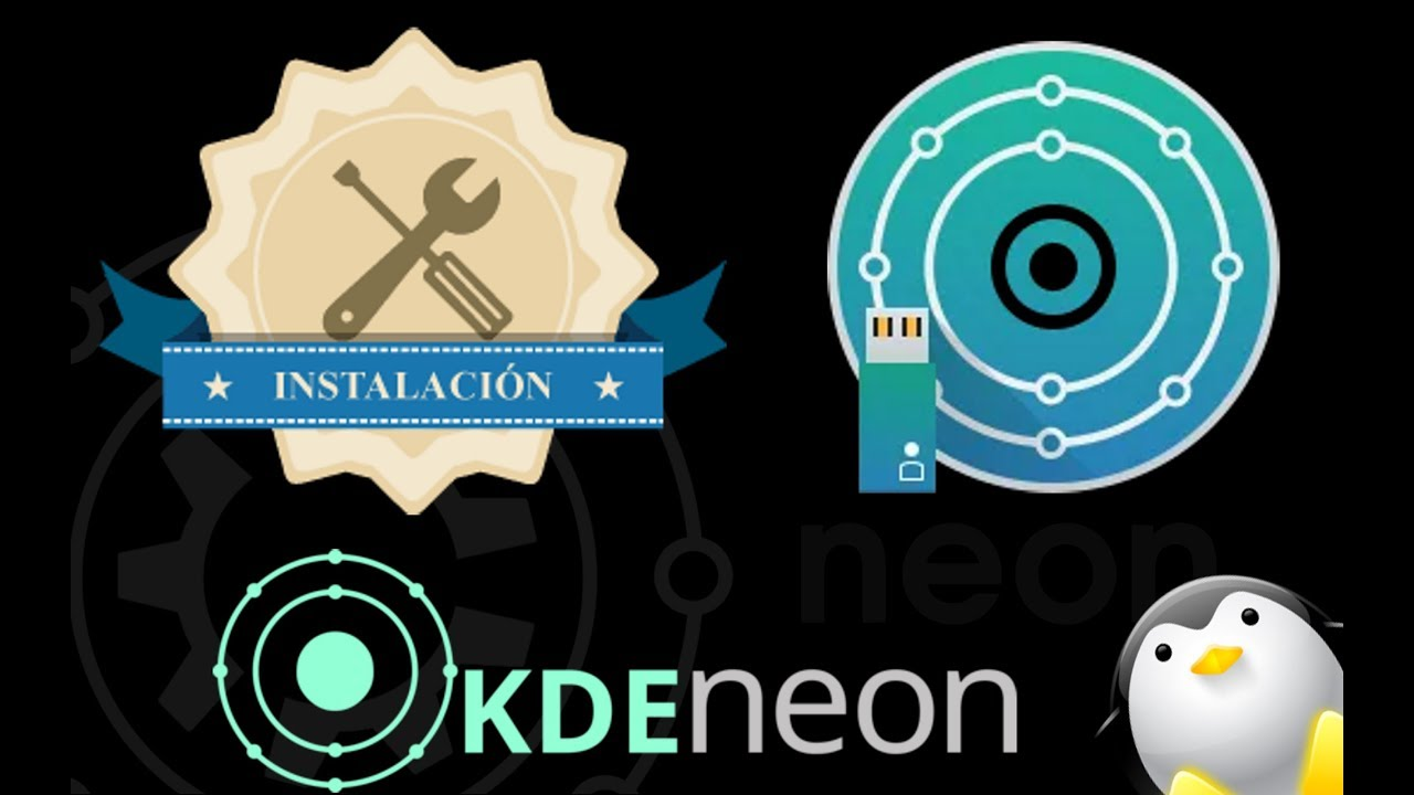 Instalcion KDE Neon