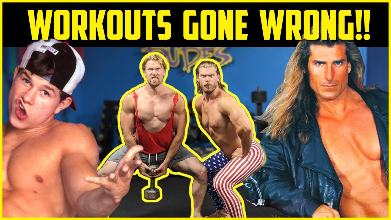 We Tried CRAZY 80's & 90's Old School Bodybuilder Workouts