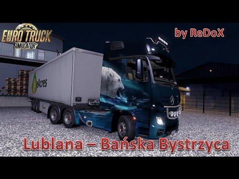 Euro Truck Simulator 2 (Lublana - Bańska Bystrzyca)