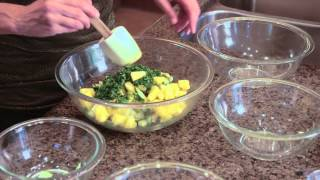 Rhubarb & Pineapple Salad : How To Cook To Stay Healthy & Fit