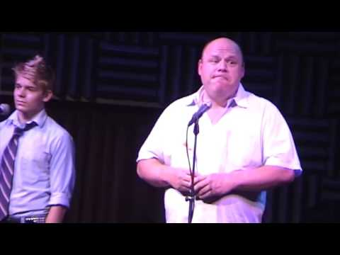 "Andrew Keenan-Bolger & Kevin Chamberlin Sing ""Alone In The Universe"""