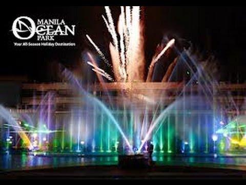 Manila Ocean Park Musical Fountain Show!
