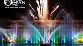Manila Ocean Park Musical Fountain Show!