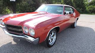 1971 Chevy Chevelle red For sale at www coyoteclassics com