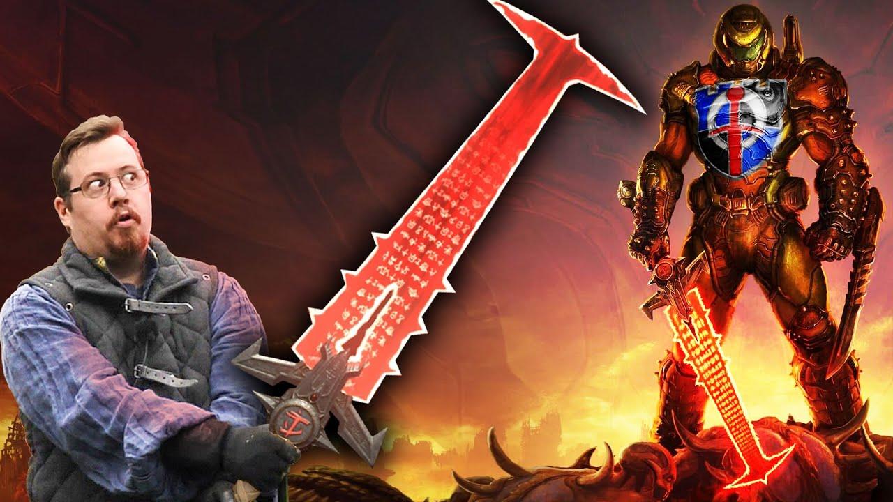 DOOM ETERNAL CRUCIBLE SWORD - Pop-culture Weapons Analysed thumbnail