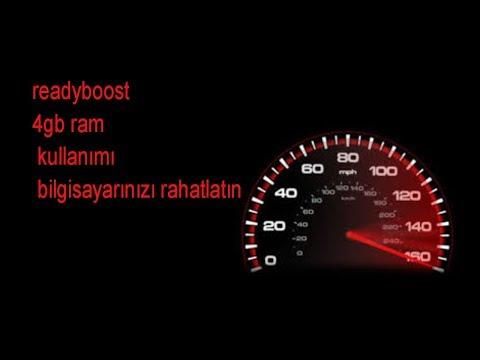 READYBOOST KULLANIMI 4GB RAM NASIL KULLANILIR? (2019)