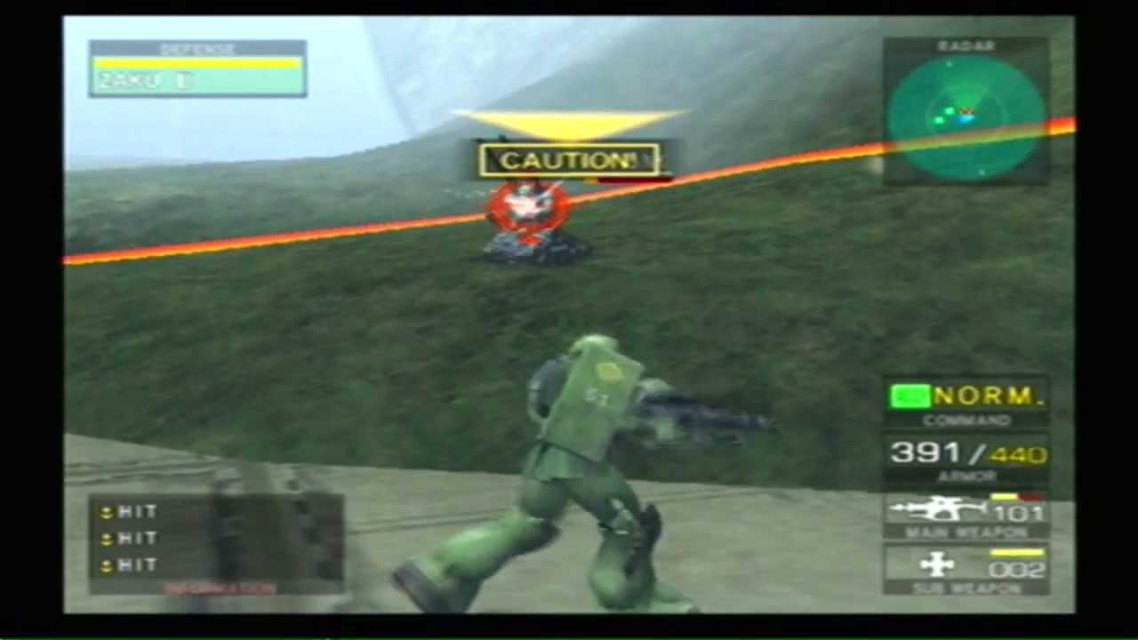 Mobile Suit Gundam: Federation vs Zeon 15 Minutes Game ...