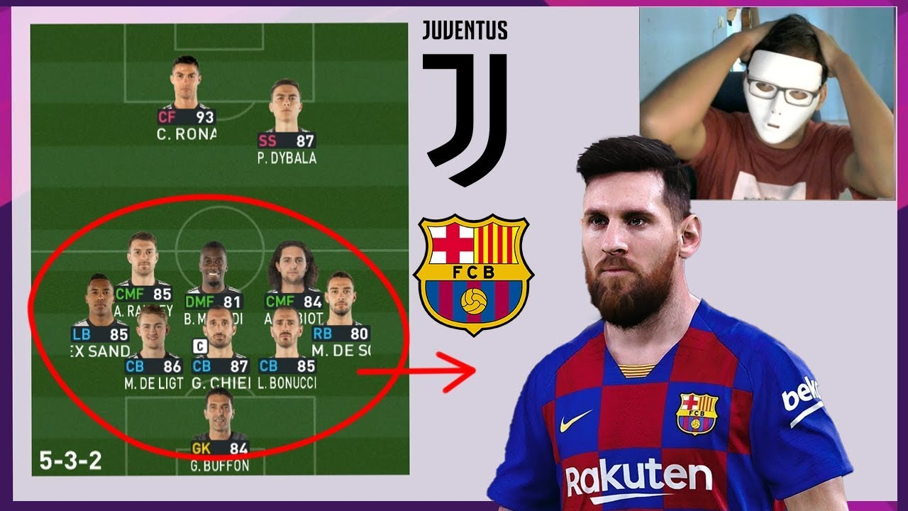 can juve defend vs barca with this formation 90 parking bus pes 2020 gameplay youtube can juve defend vs barca with this formation 90 parking bus pes 2020 gameplay