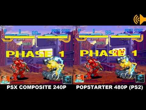 POPSTARTER PS2: 480P Vs. 240P