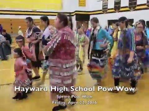 Video: 2016 Hayward High School Pow Wow