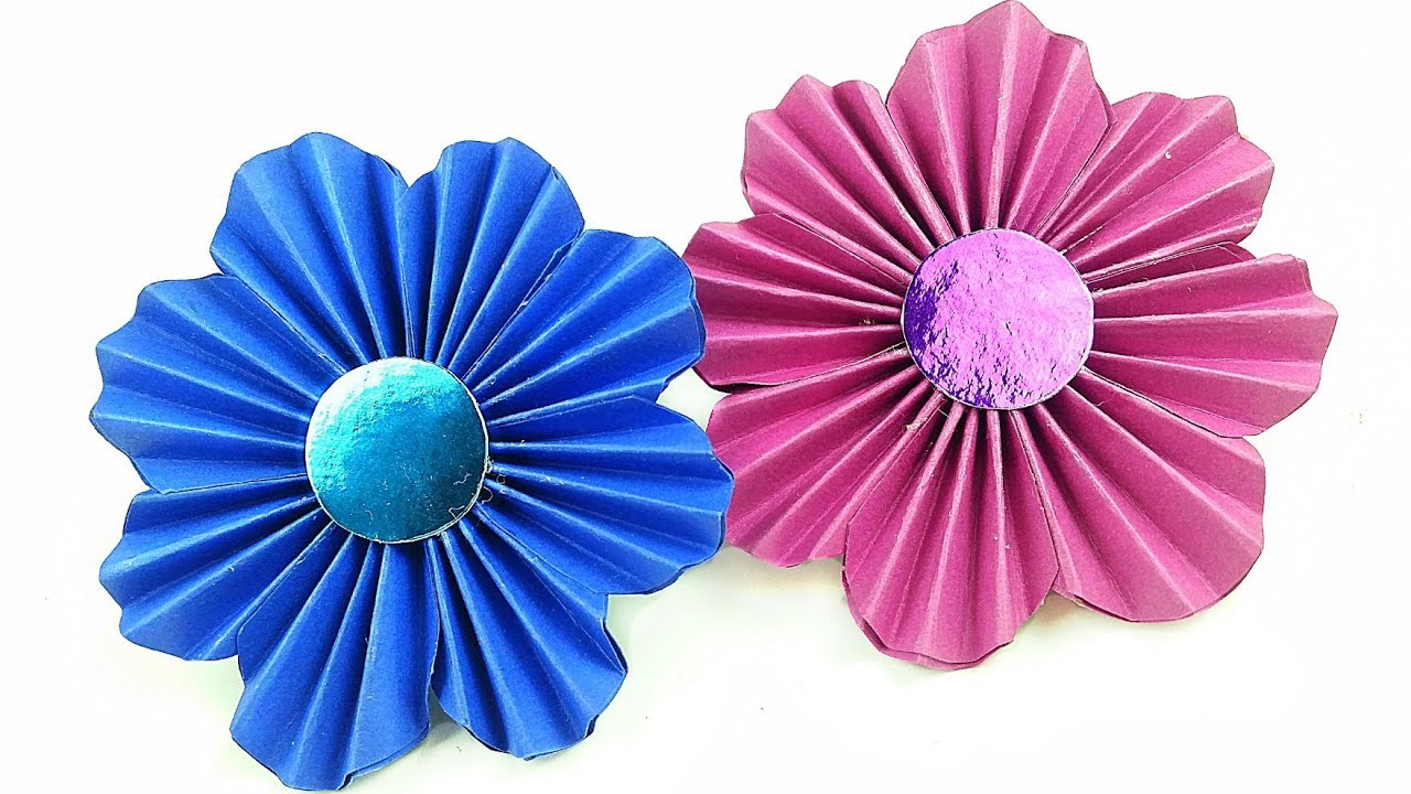 Diy making simple paper rosettes flower tutorial backdrop paper diy making simple paper rosettes flower tutorial backdrop paper flowers decorations easy for kids mightylinksfo