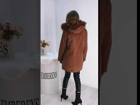 Недорогая Удлиненная женская куртка 1478 в интернет-магазине одежды Emberens.com