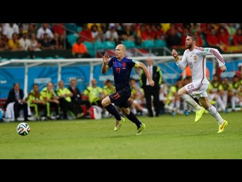 Robben's World Record Speed ● World Cup 2014
