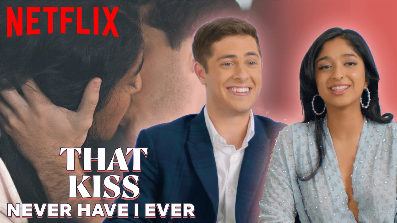 Download Maitreyi and Jaren Break Down Their Kiss in Never Have I Ever | Netflix