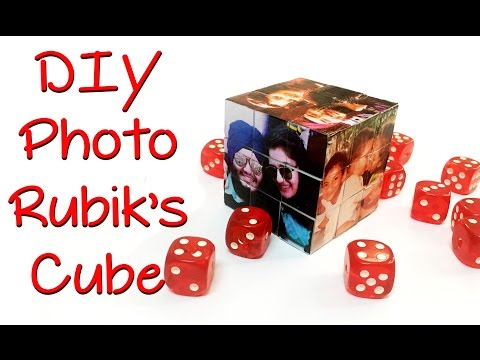 DIY Gifts- Photo Rubik's Cube