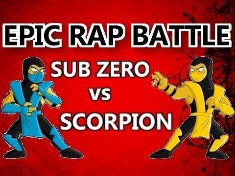 BrySi - Sub-Zero vs Scorpion - EPIC RAP BATTLE - 1 HOUR
