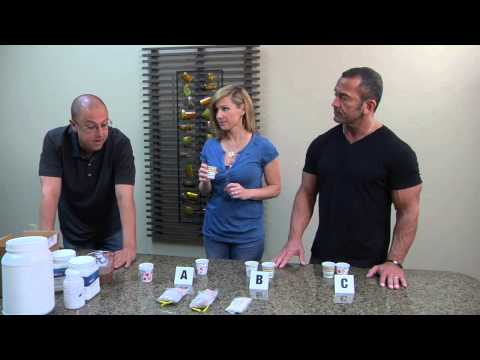 Jamie Eason – Taste Testing Her All Natural Whey Protein