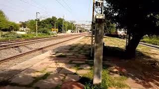 Bhopal shatabadi at it's 130 banmore(gwalior)