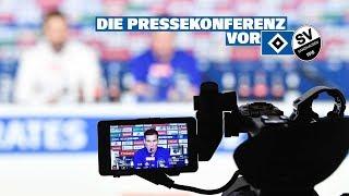 RELIVE: Die Pressekonferenz vor dem Spiel gegen den SV Sandhausen