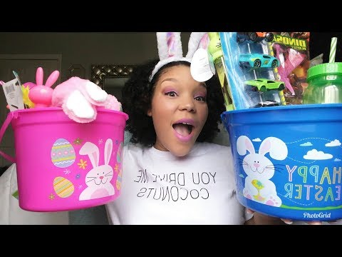 Whats in my kids Easter Baskets !? 🐣🐇 | 1 year old & 3 year old😉