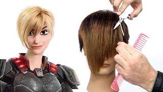 Will This Haircut Break The Internet? Sergeant Calhoun Pixie Haircut Tutorial