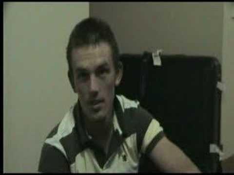 Ben Lowe prerace Geelong Ironman 70.3 2008