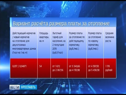С 01 января 2020 года во всех регионах России может увеличиться норматив на тепло
