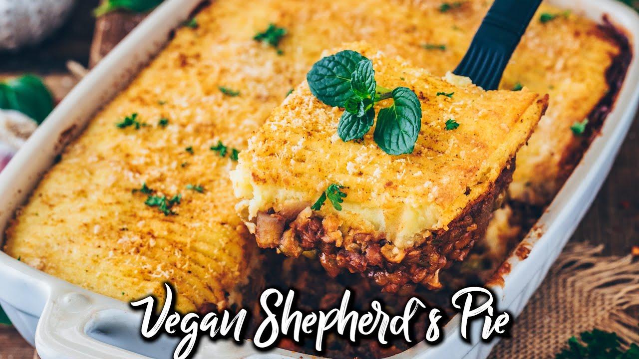Vegan Shepherd`s Pie with Lentils * Recipe