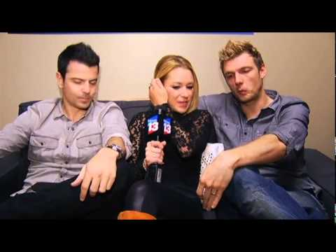 Nick Carter and Jordan Knight talk 'Magic Mike,' dance, husband-squatting wife