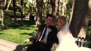 wedding day Baku  -  Свадьба в Баку  2015.  Прогулка по губернаторскому саду.