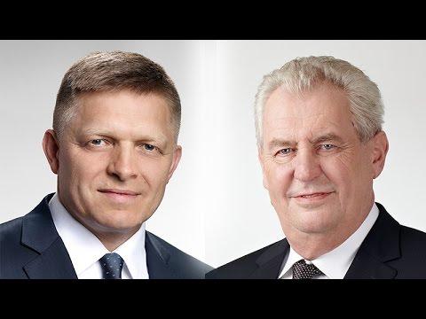 Priamy prenos: Sledujte prejavy Roberta Fica a Miloša Zemana v Bratislave