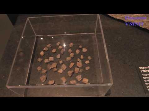 Fairy stones at VMNH