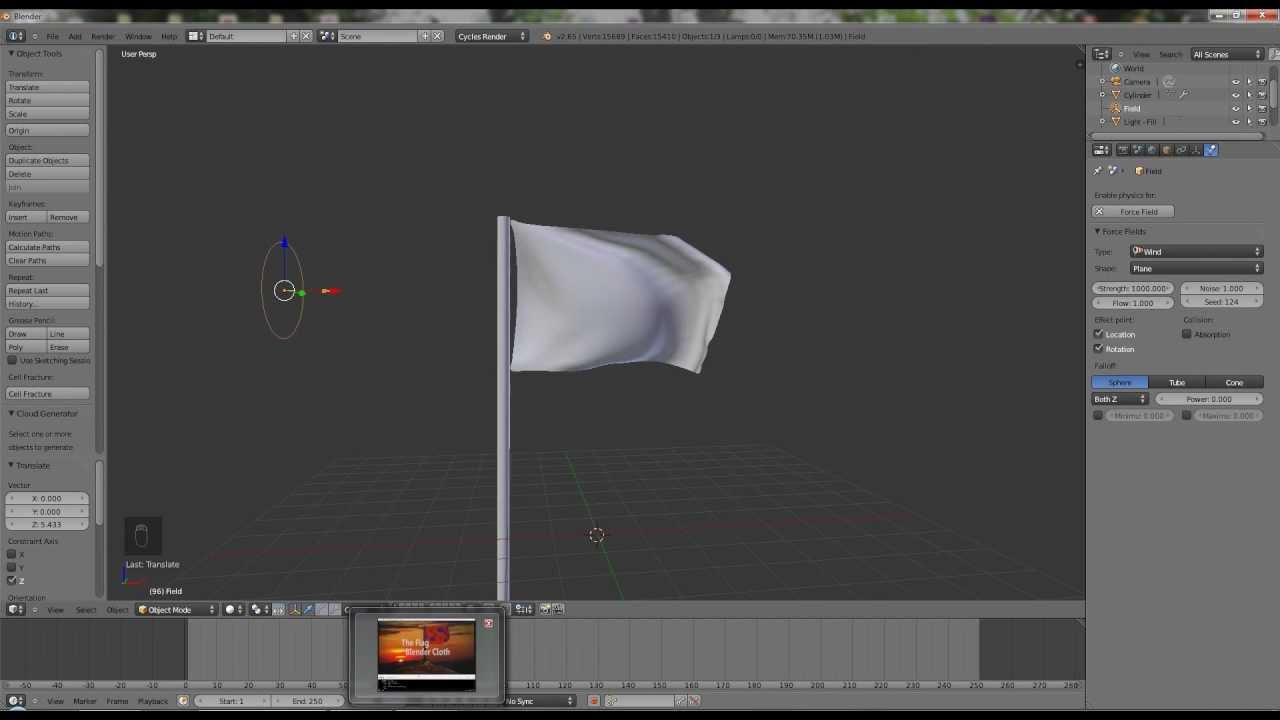 how to create capes in blender