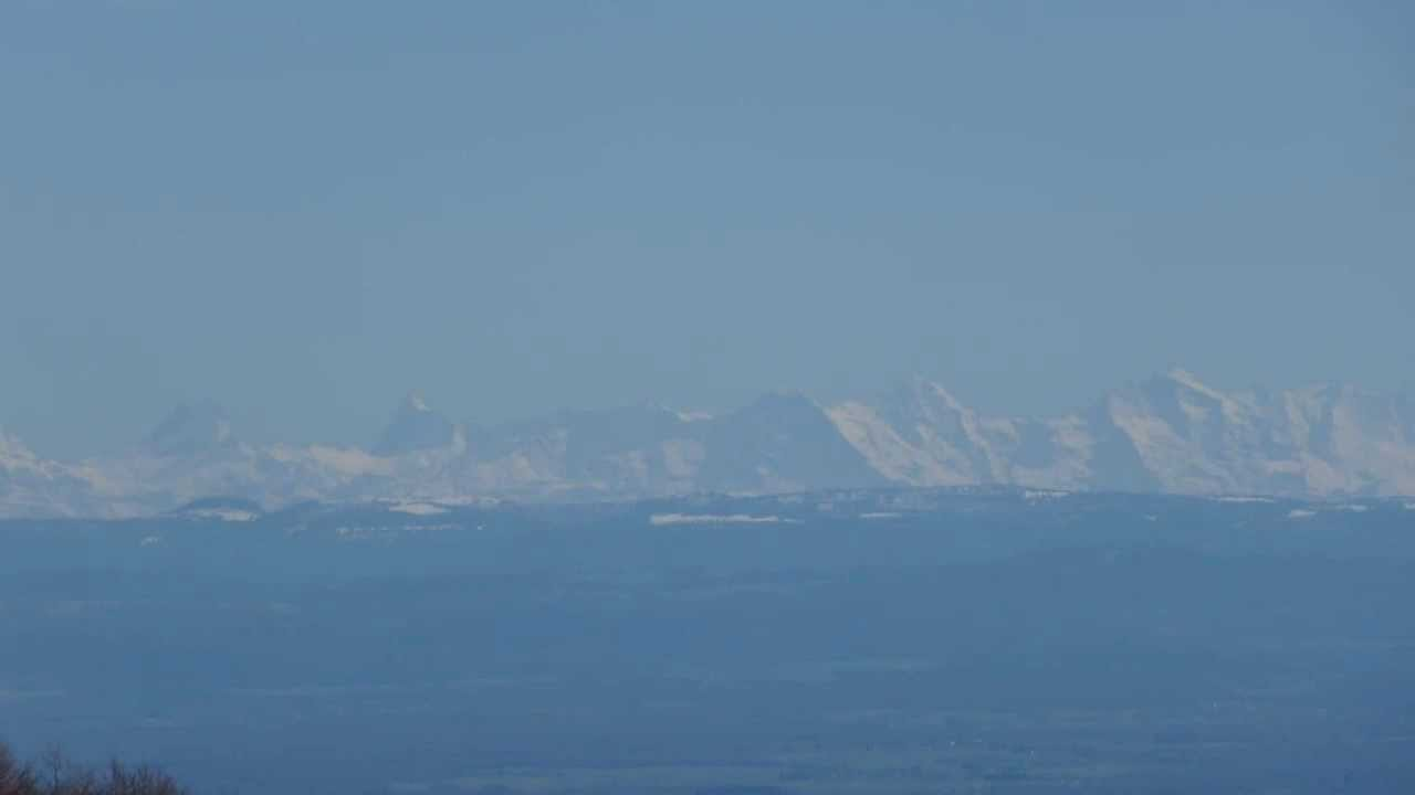 Ballon d 39 alsace vid o 1 la vue des alpes suisses en fin d 39 hiver 2013 youtube - Fin des soldes d hiver ...