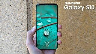 Galaxy S10 leaks