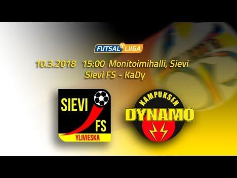 10.3.2018 Sievi FS - KaDy klo 15.00 Futsal Liiga