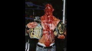 john cena bloodiest match ever