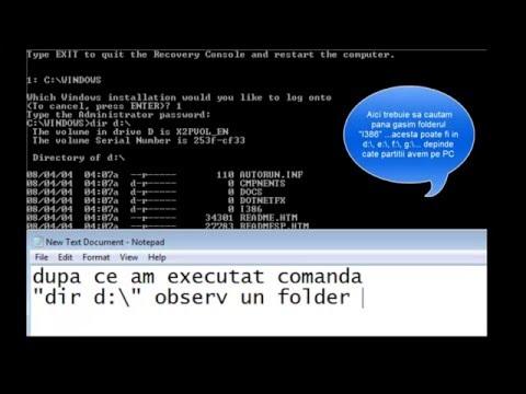 Fix error NTLDR is missing in win XP?