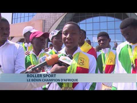Championnats d'Afrique de rollers sport : le Bénin remporte 11 médailles d'or