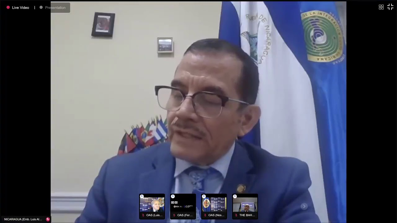 Nicaragua rechazará resolución de la OEA
