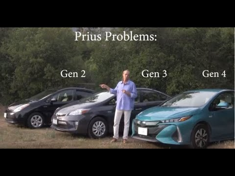 Problems to Look Out for When Buying a Used Toyota Prius
