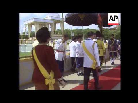 Thailand-50th Anniversary Of King Bhumibol's Reign