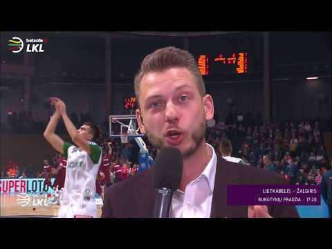 """Betsafe-LKL"" rungtynės: ""Lietkabelis"" – ""Žalgiris"" [2017-11-19]"